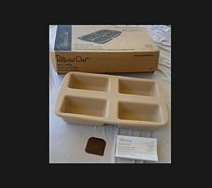 Amazon Com Pampered Chef Stoneware Mini Loaf Pan Kitchen