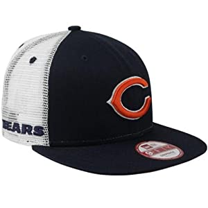 Buy Chicago Bears Big Mesh 4 9FIFTY Adjustable Snapback Hat by New Era by New Era