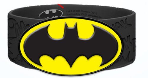 Batman DC Comics Batman Bat Signal Rubber Wristband