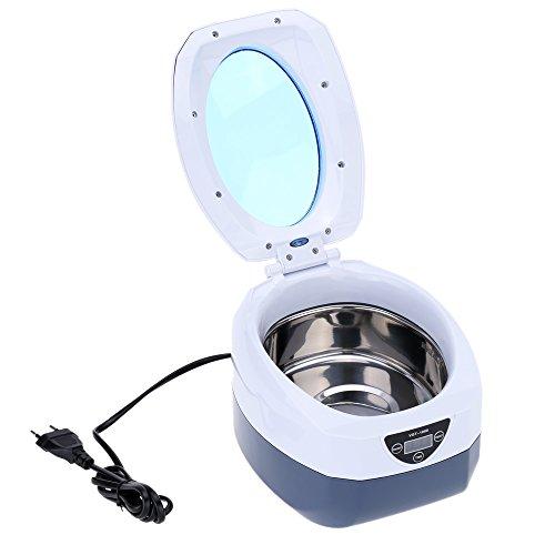 KKmoon AC220V-240V 750ml Digital Haushalt Ultraschallreiniger Brillen Uhr Schmuck CD Reinigungsmaschine