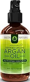 InstaNatural THE BEST Organic Argan O…