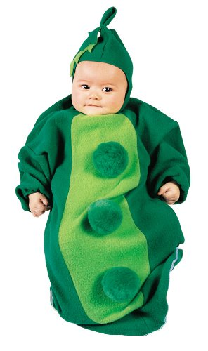 Baby Pea in the Pod Bunting Costume Size 0-9 Months