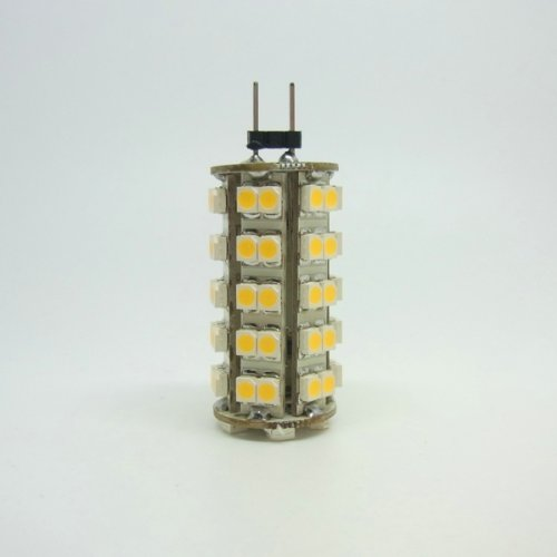 G4 68 Smd 3528 Led Pure White Lights 6000K Spot Light Bulbs 12V 4W 340Lm