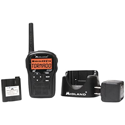 Hh54vp2 Same All-hazard Handheld Weather Alert Radio by MIDLAND