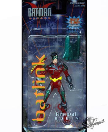 Batman Beyond Firewall Robin