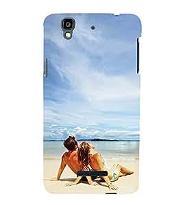 Beach Wallpaper 3D Hard Polycarbonate Designer Back Case Cover for YU Yureka :: YU Yureka AO5510