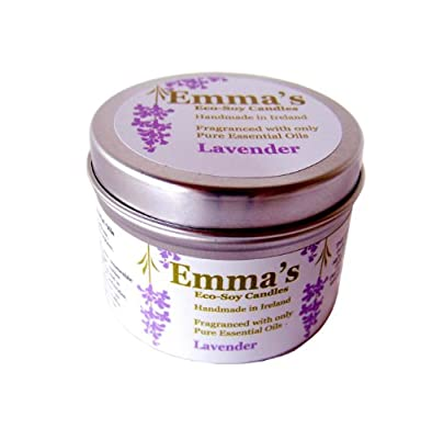 Emma's Eco-Soy Candles Tin Lavender by Emma's