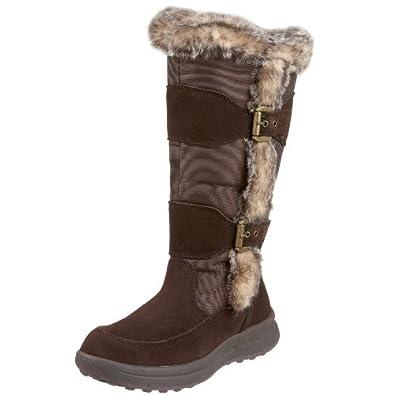 Cougar Women's Tamarack Suede Packer Nylon Boot, Black, 6