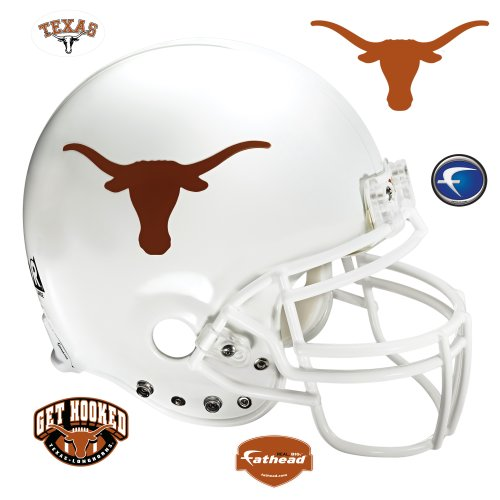 Texas Longhorns Helmet Wall Decal at Amazon.com