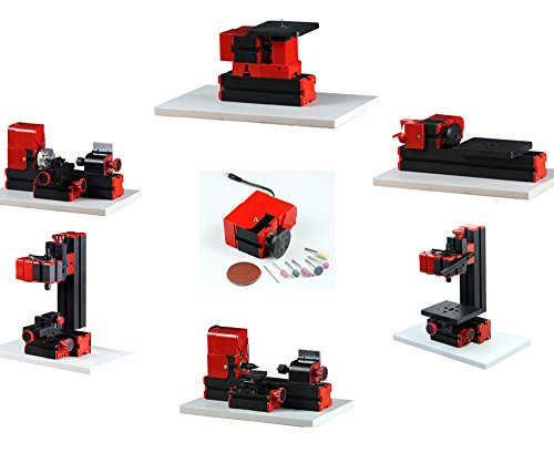 EverVictory-Mini-7-In-1-Wood-Machine-Kit-Lathe-Woodworking-DIY-Model-Tools-Educational-Gift