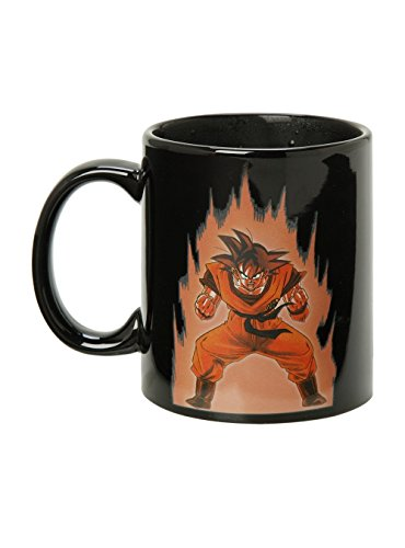miniature de collection dragon ball z couleur changeante mug tasse caf de chaleur r active. Black Bedroom Furniture Sets. Home Design Ideas