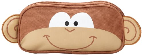 Stephen Joseph Little Boys' Pencil Pouch, Monkey, One Size - 1