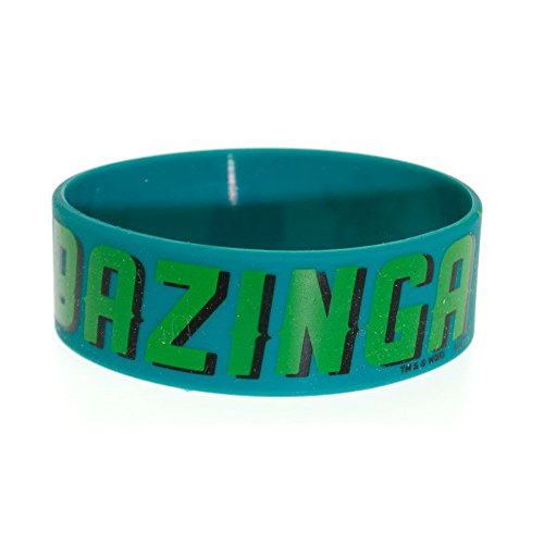 Big Bang Theory - Bazinga Large Braccialetto, Diametro: 65mm, Larghezza: 24mm, Spessore: 1mm taglia adattabile (6 x 2cm)