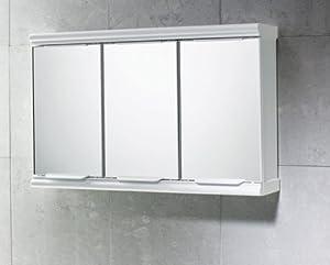 gedy 3 door mirror bathroom cabinet white gloss diy