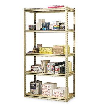 Stur D Stor Shelving 5 Shelves 36w x 18 1 2d x 72h Sand