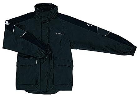 Bering - Veste de pluie moto MANIWATA - Taille : L - Couleur : Noir