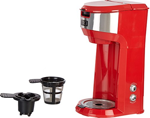 TRU Red Dual Brew Coffee Maker One Size