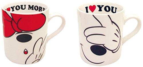 三郷陶器 ディスニー ラブメッセージシリーズ ペアマグカップ 3188-101