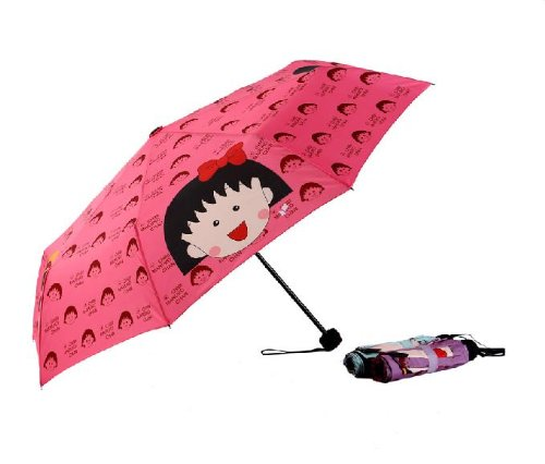 Colored Alpaca And Cactus Compact Travel Umbrella Windproof Reinforced Canopy 8 Ribs Umbrella Auto Open And Close Button Customized