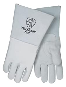 Tillman 750 Premium Top Grain Elkskin Welding Gloves, Left Hand Only, X-Large