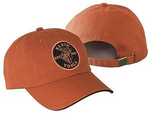 Klein Tools 98416 Orange Hat With Klein Lineman Logo