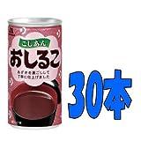 森永 おしるこ缶 190g 30本