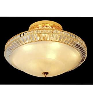 Crystal Chandelier – Surface Mounted   ÷Special Discount