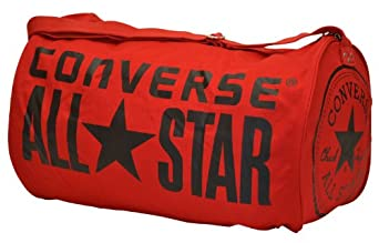 Converse All Star Chuck Taylor Duffel Gym Tote Bag-Red