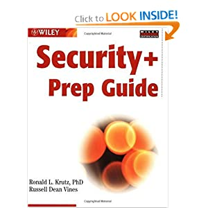 Wiley's Security Plus Prep Guide