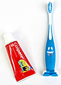 Kids Toothpaste And Toothbrush 2 Sizes