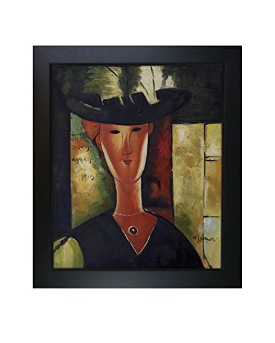 Amedeo Modigliani Portrait Of Madam Pompadour, 1915 Framed Hand-Painted Oil Reproduction