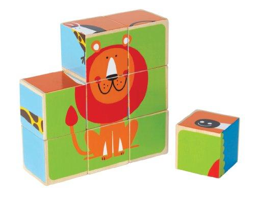 Hape Zoo Animals Block Puzzle