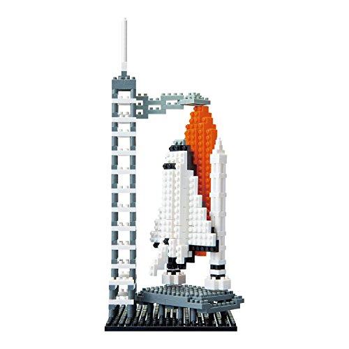 Nanoblock-14000-Space-Center-3D-Puzzle-von-Kawada-bestehend-aus-ber-550-Teilen