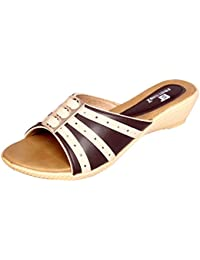 Footshez Women's Multicolor Beautiful And Trendy Casual And Party Wear Flat Chappals
