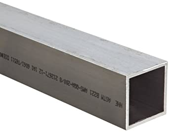 Aluminum 6061-T6 Hollow Rectangular Bar