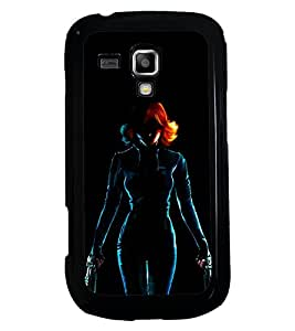 PRINTSWAG WARRIOR GIRL Designer Back Cover Case for SAMSUNG GALAXY S DUOS S7562