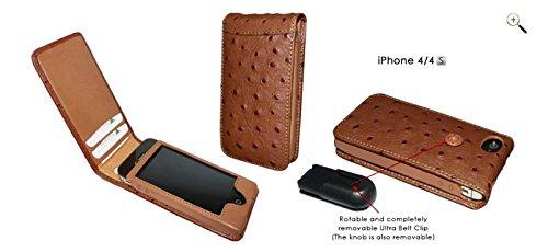 piel-frama-ledertasche-fur-iphone-4-4s-magnet-straussenleder-pragung-braun