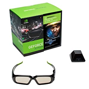 NVIDIA 3D Vision Glasses Kit w/StarcCraft II