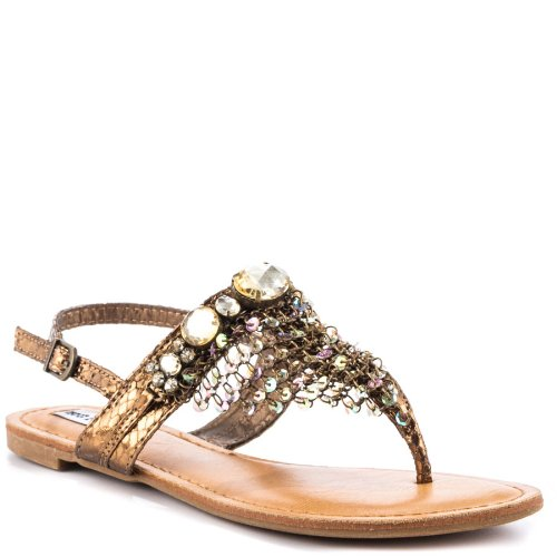 Not Rated Women's Alexandria Dress Sandal,Bronze,6.5 M US