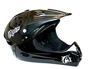Apex BMX / MTB Mountain Bike Kids Childrens Full Face Helmet