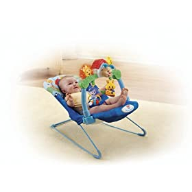 Amazon - Fisher-Price Lil Laugh and Learn Bouncer - $39.99