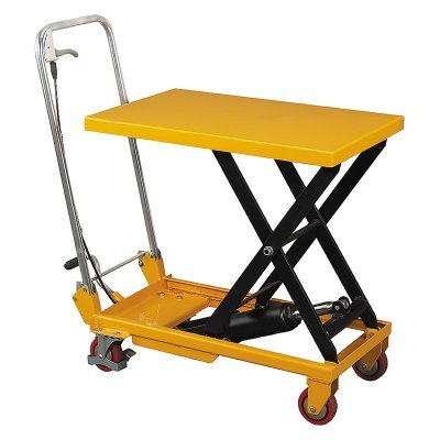 Wesco Scissor Lift Table with Folding Handle - 260207