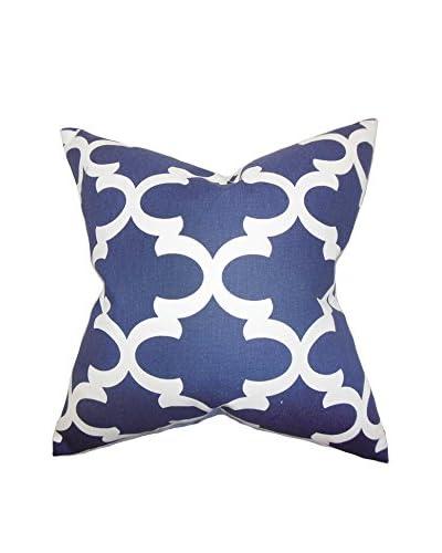 The Pillow Collection 18 Flynn Pillow, Blue