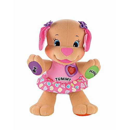 New Toy Fisher Price Laugh N Learn Learning Musical Pink Sister Puppy Dog Baby Toy front-812036