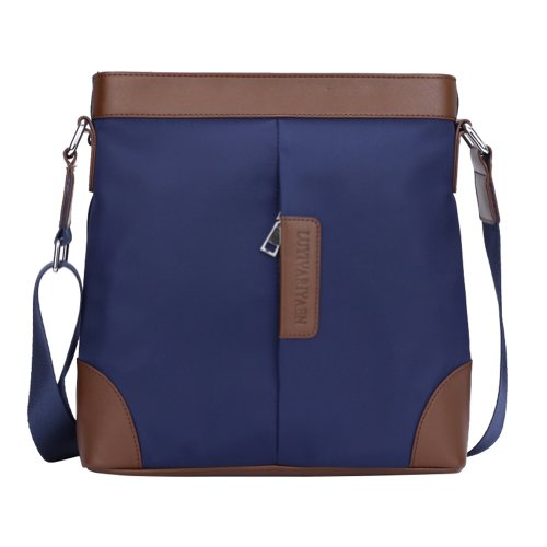 Men's Elegant Vertical Casual Business Traveller Shoulder Bag Briefcase