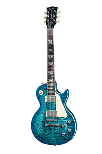 2015 Gibson Les Paul Standard Premium in Ocean Water Candy