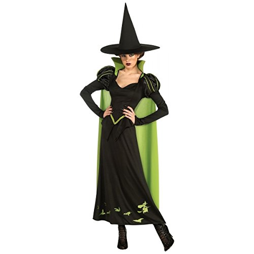 GSG Wicked Witch Costume Adult Wizard of Oz Halloween Fancy Dress (Wicked Witch Fancy Dress)