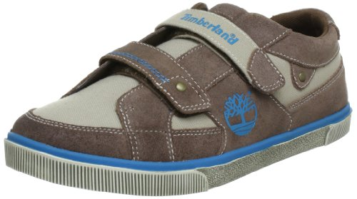 Timberland Slim Cupsole FTK_EK Atlantic Ave H&L Ox Trainers Boys brown Braun (Brown with Blue) Size: 40