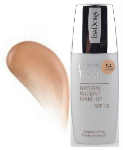 IsaDora Light Touch Natural Radiant Make-UP ALMOND-54