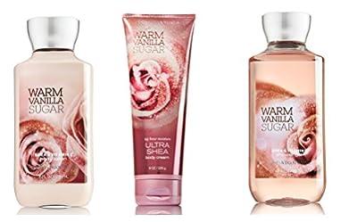 Bath & Body Works Warm Vanilla Sugar Gift Set